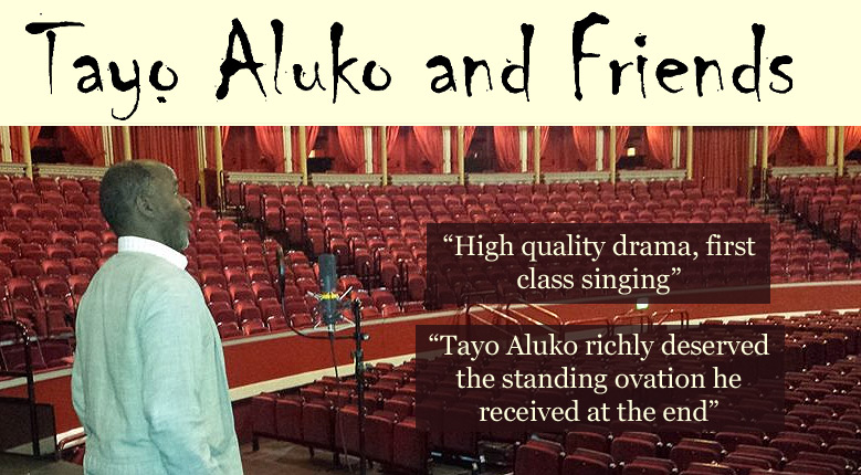 Other Presentations – Tayo Aluko and Friends