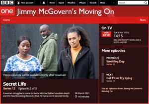 Coming to BBC1, March 8, 2012